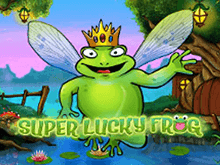 Слот Супер Удачливая Лягушка в онлайн клубе